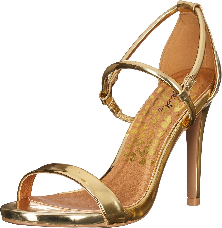 Qupid Women's Grammy-206 Dress Sandal