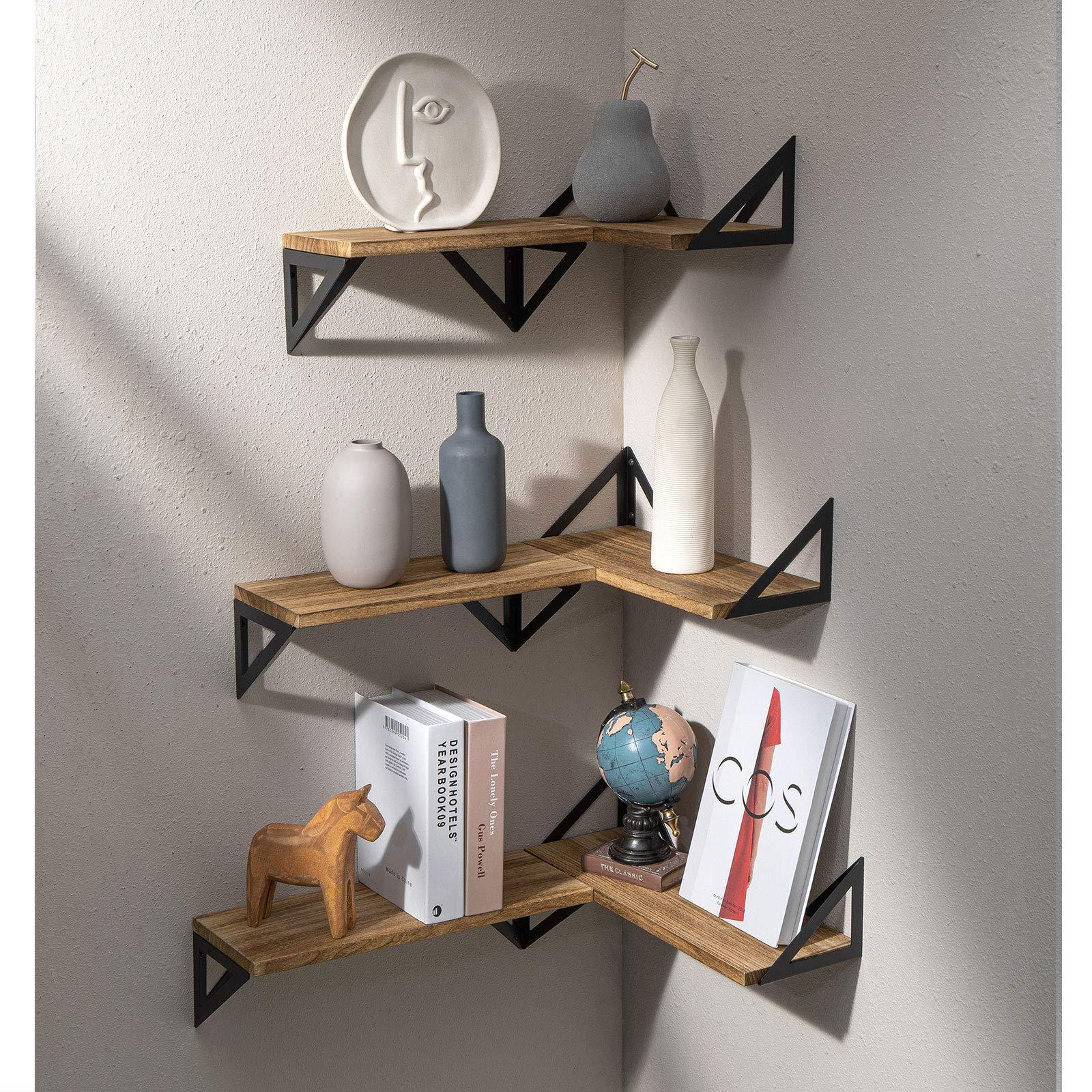 9x Large geflammtes//Singed Shelf Fruit Crate Shoe Shelf Wall Shelf holzkist 3x
