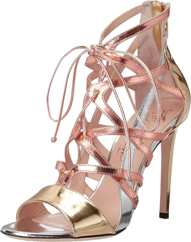 Alejandro Ingelmo Womens 4004-4 Dress Sandal