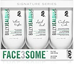 product image for Billy Jealousy Face3Some Mens Face Trio Cleansing Kit With Daily Facial Cleanser, Exfoliating Facial Cleanser and Face Moisturizer, 1 count
