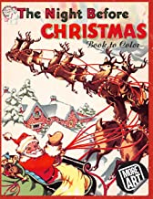 The Night Before Christmas Book to Color: A Retro Vintage Coloring Book (Artimorean Vintage Coloring Books) PDF