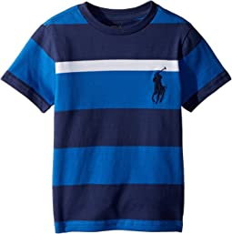 Striped Cotton Jersey T-Shirt (Toddler)