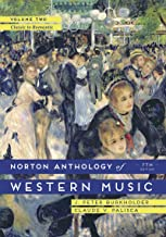 The Norton Anthology of Western Music (Seventh Edition)  (Vol. Volume 2)