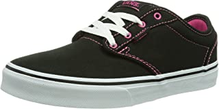 vans shoes for girls black and pink
