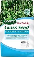 Scotts 18266 Turf Builder Grass Seed Kentucky Bluegrass Mix, 3-Pound