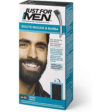 Just For Men Just For Men Tinte Colorante En Gel Para Barba Y Bigote - Negro (Formula Mejorada). M-55