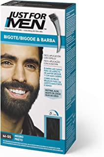 Just For Men Just For Men Tinte Colorante En Gel Para Barba Y Bigote - Negro (Formula Mejorada)