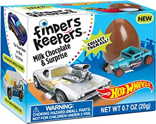 Finders Keepers Hot Wheels Milk Candy, Chocolate, 4.2 Oz (Pack of 6)