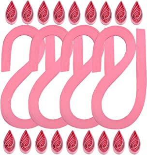 Paper Quilling Strips Bright Pink 53cm x 5mm Pack of 110+