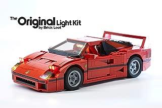 Brick Loot Lighting Kit for Your Lego Ferrari F40 Set 10248 (Lego Set NOT Included)