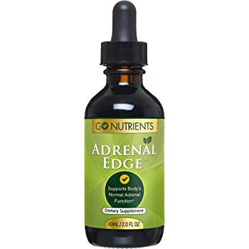 Adrenal Edge - Adrenal Fatigue Supplement & Cortisol Manager - Support Formula Contains Adaptogen Herbs to Help Manage Stress, Increase Energy, and Maintain Healthy Weight - 2 oz
