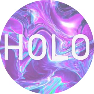 holographic hd wallpaper