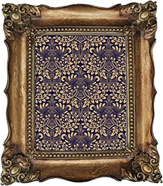 8x10 Picture Frame Baroque Picture Frames 8x10 Vintage Photo Frames 10 x 8 in Bronze
