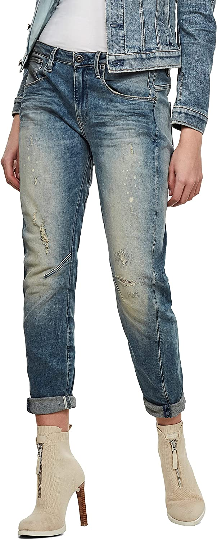 G-Star Raw Women's Arc Boston Mall 3D Jeans Low Fit Super Special SALE held Boyfriend Rise