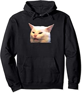Woman yelling at table dinner cat meme dank meme Pullover Hoodie