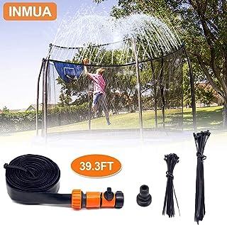 INMUA Trampoline Sprinkler, Outdoor Trampoline Water Sprinkler Waterpark Summer Fun Outdoor Toys Sprinkler Accessories for Kids (39.3ft/12M)
