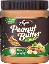 Alpino Natural Peanut Butter Smooth 1kg (Unsweetened / Gluten Free / Non-GMO)
