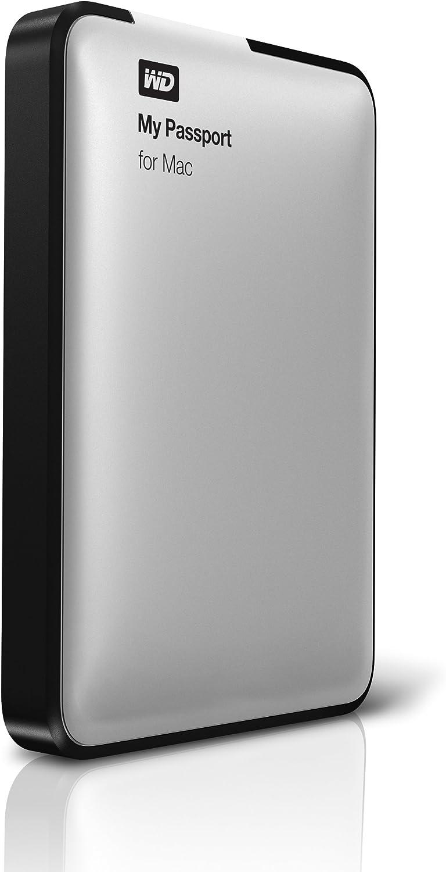 WD My Passport for Mac 500 GB USB 2.0 External Hard Drive - WDBL1D5000ABK-NESN