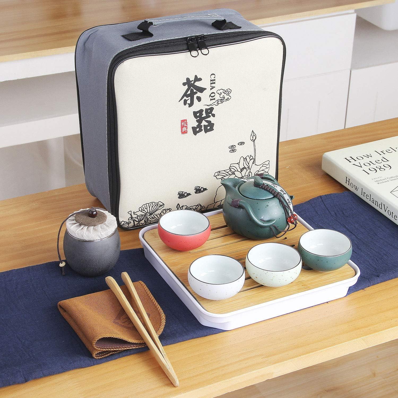 OFFicial mail order VanEnjoy Kung Fu Tea set Japanese Set Style San Jose Mall Chinese