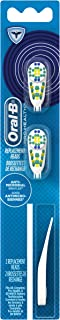 Oral-B Complete Action Anti-Microbial Elecctric Toothbrush Replacement Brush Heads Refill, 2 Count