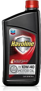 Havoline (223396481-12PK) 10W-40 Motor Oil - 1 qt. (Pack of 12)