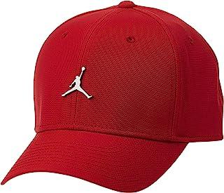 Air Jordan Mens Jumpman Classic Metal Baseball Cap Red Mens