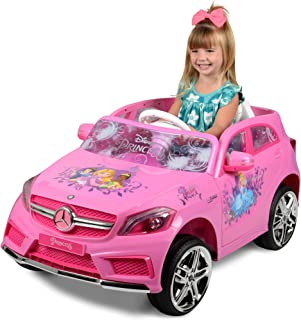 Disney Princess Mercedes 6-Volt Ride-On, Pink