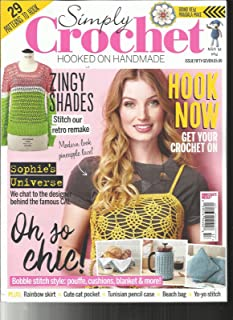 SIMPLY CROCHET, HOOKED ON HANDMADE, ISSUE 57 HOOK NOW * GET YOUR CROCHET ON