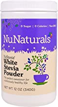 NuStevia White Stevia Powder, 12 oz (340 g) Pack of 2