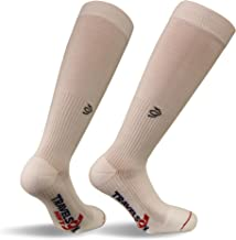 Travelsox TSS6000 The Original Patented Graduated Compression Performance Travel & Dress Socks With DryStat OTC Pairs