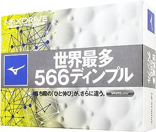 MIZUNO(ミズノ) ゴルフ ゴルフボール NEXDRIVE ネクスドライブ 1ダース(12個入り) 5NJBM328 2ピース