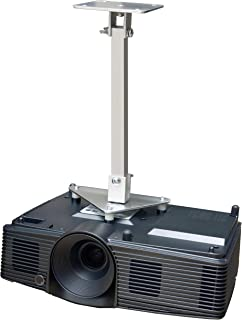 PCMD, LLC. Projector Ceiling Mount Compatible with Hitachi CP-SX8350 WU5500 WU5505 WU8440 WU8450 WU8451 (14-Inch Extension)
