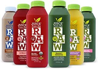 Juice From the RAW 3 Day Whenever Cleanse with Cashew Coffee Milk and Probiotics - 18 Bottles - FREE 2-Day Delivery