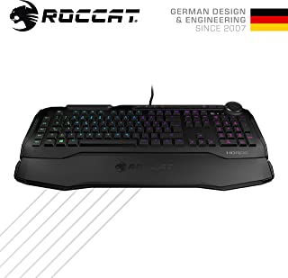 ROCCAT『Horde AIMO』 Membranical® RGB ゲーミングキーボー (正規保証品) ROC-12-351-BK