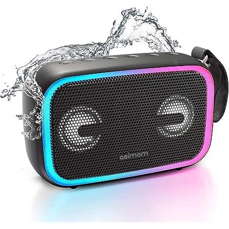 Altavoces Bluetooth Portátiles Altavoces Exteriores De 30 W Con Subwoofer Radio Fm Luces Coloridas Rgb Ecualizador Sonido Estéreo Bocina Inalámbrica De 10 Horas De Reproducción Para El Hogar Fiestas Camping Viajes