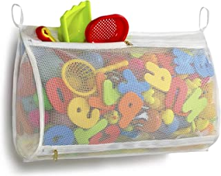 Tenrai Mesh Bath Toy Organizer, Bathtub Storage Bag, Multi-Purpose Baby Toys Net, Toddler Shower Caddy for Bathroom, Kids ...