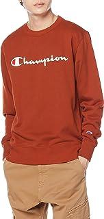 [チャンピオン] トレーナー 長袖 裏毛 綿100% 定番 クルーネック スクリプトロゴプリント クルーネックスウェットシャツ C3-Q002 メンズ