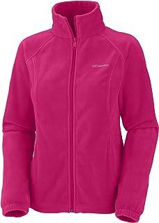 Women's Benton Springs Full-Zip Fleece Jacket (Bright Rose, 1X)