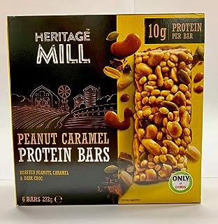 Freedom Heritage Mill Peanut Caramel Protein Bars, 222 g
