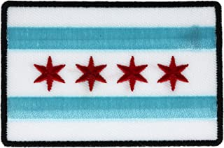 Chicago City Flag Embroidered 3