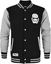 Star Wars Force Awakens First Order Stormtrooper Men's Varsity Jacket