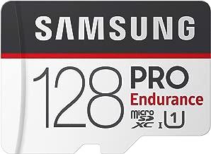 Samsung PRO Endurance 128GB 100MB/s (U1) MicroSDXC Memory...
