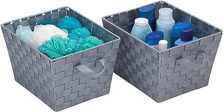 Best silver storage baskets Reviews