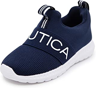 Kids Fashion Sneaker Slip-On Athletic Running Shoe Boy -...