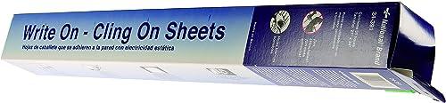 liquidación hasta el 70% Write On, Cling Cling Cling On Easel Pad, Unruled, 27 x 34, blanco, 35 Sheets Pad  Las ventas en línea ahorran un 70%.