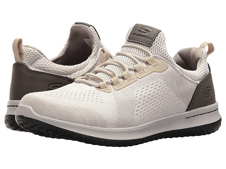 SKECHERS Classic Fit Delson Brewton (Taupe) Men