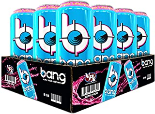 VPX Bang, Rainbow Unicorn, 16 Ounce Cans (12 Pack)