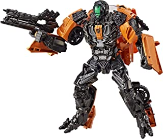 Transformers E0976 Studio Series 17 Deluxe Class Age of Extinction Shadow Raider, Multi-Colored