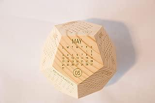 Wooden Box Calendar 2020, Printable Calendar, New Year Employee Gift, Desk Decor, Calendar Planer, Calendar Gift, Office Calendar, Co-Worker Gift