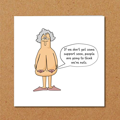 Funny Birthday Card 40th 50th 60th For Wife Mum Grandmother Female Friend Old Aged